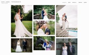 Screenshoot Hochzeitsfotografie von Axel Jung
