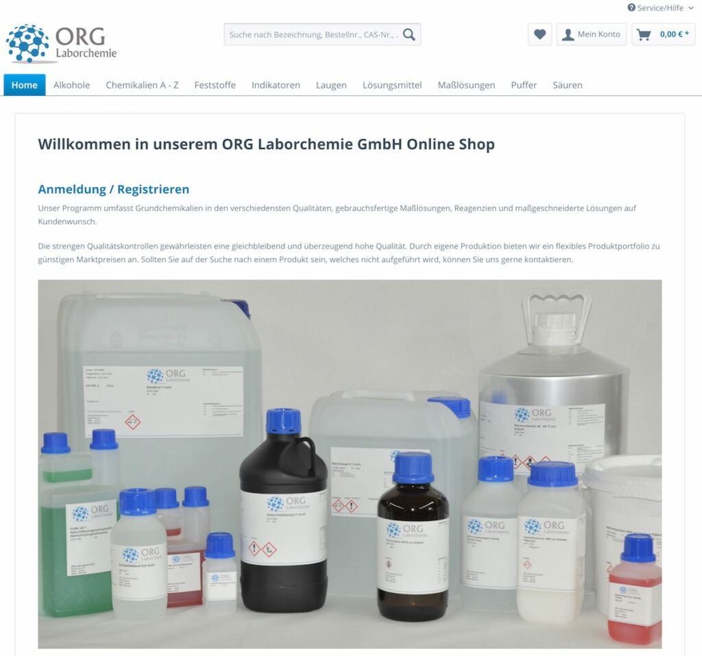 shopsystem-shopware Laborchemie