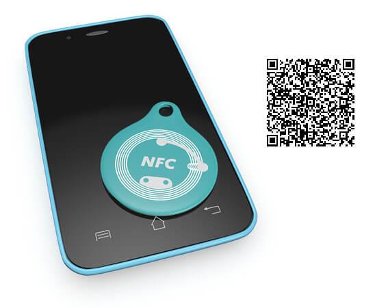NFC-Tag versus QRcode Der Nutzen