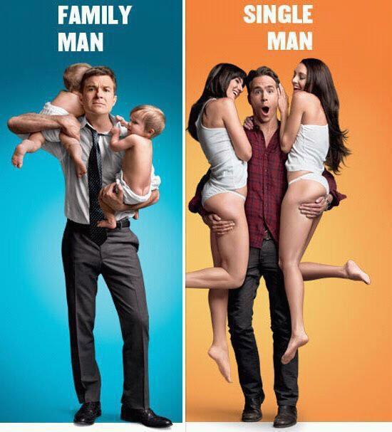 Single Mann - Familien Mann