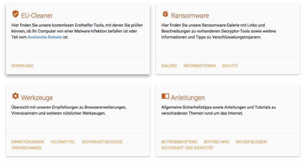 link www.botfrei.de