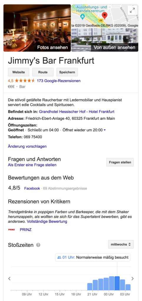 Standortdaten-Google-Business